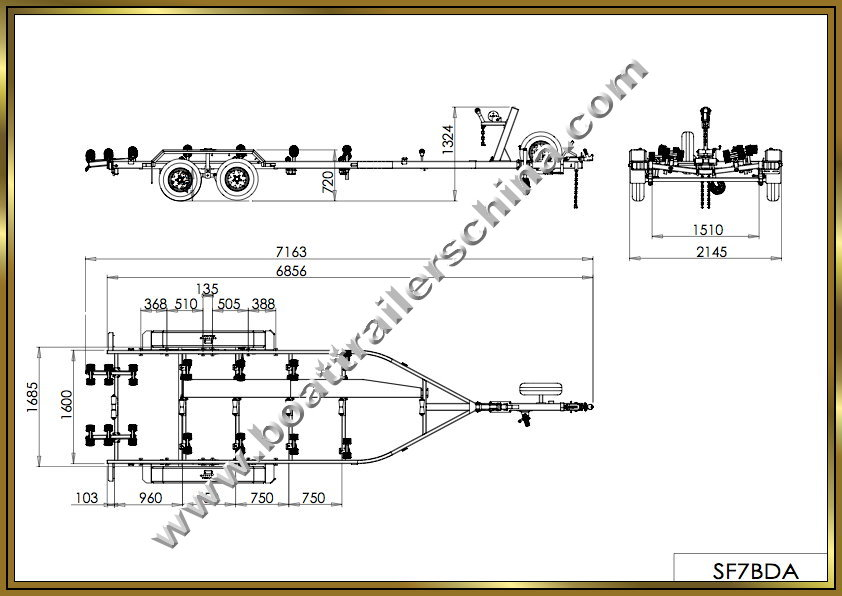 trailer drawings with 7 Metre Dual Axle Multi Roller Boat Trailer on Lights Out Diana 624662406 further 1100 6442555 as well Haku And Chihiro Flight 268407284 additionally  additionally Outdoor Kiosk Design Nyamanok.