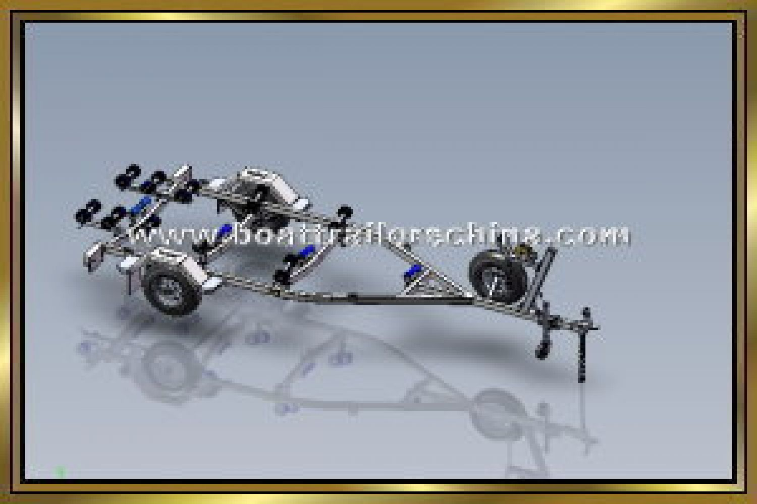 Spitfire Trailers Boat trailers China 5.2M Multi Roller Boat trailer